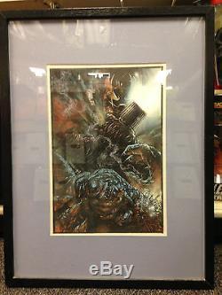 Grendel John K. Snyder Framed Original Painted Colored Art Page Matt Wagner