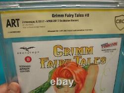 Grimm Fairy tales Elias Chatzoudis original art sketch of poison ivy CBCS NO CGC
