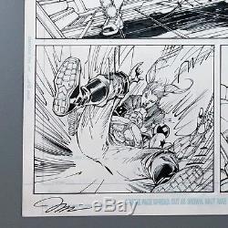 HARLEY QUINN Original Art by JIM LEE SIGNED WILLIAMS Suicide Squad Published