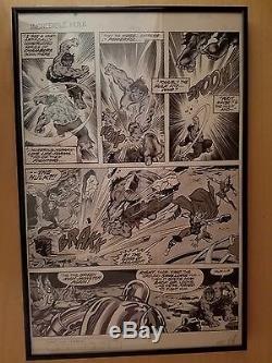 HULK Magazine 9 art page Sal Buscema Avengers L@@k