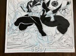 Hal Jordan Green Lantern Corps #45 Pg 13 Original Art Splash Ethan Van Sciver