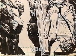 Harley Quinn Joker Original Comic Art Page Suicide Squad 15 Pg 5 Dagnino
