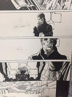 Harley Quinn Suicide Squad April Fools 1 Pg 29 Jim Lee Original Artwork Signed