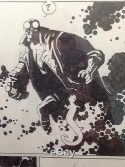 Hellboy- Mignola Original Art- Hellboy Christmas Special pg. 14