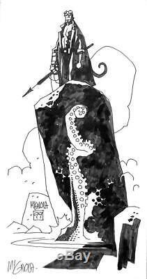 Hellboy Right Hand of Doom TPB 1999 (Original Art) Pg #144 Mike Mignola