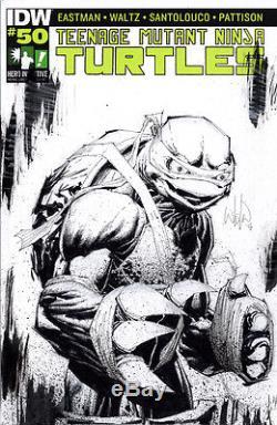 Hero Initiative Teenage Mutant Ninja Turtles 100 Project cover WHILCE PORTACIO