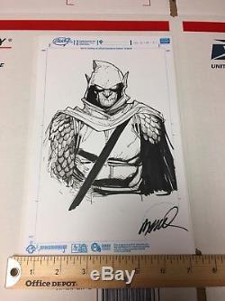 Hobgoblin by Humberto Ramos (Spider-man artist) Original Art Signed Commission