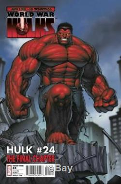 Hulk #24 Marvel 2010 (Original Art) Variant Cover! Dale Keown! Red Hulk