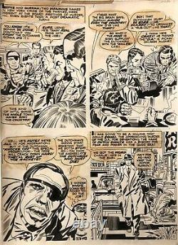 IN THE DAYS OF THE MOB 2 page 11 Original Art Jack Kirby/ Mike Royer 1972