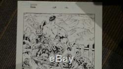 Incredible Hulk 108 Page #12 Original Art. Splash Page World War Hulk, Gladiator