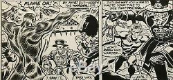 Invaders Original Art Page Marvel Issue #12 Pg #7 Frank Robbins Art