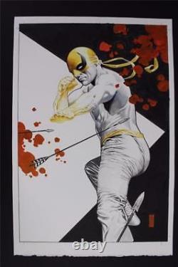 Iron Fist, The Living Weapon #2 Painted COVER (Original Art) 2014 J. G. Jones