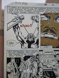 Iron Man 133 page 22 Ant Man Bob Layton comic book original art OA page Avengers