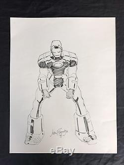 Iron Man Original Art Inked Sketch John Romita Jr 1991