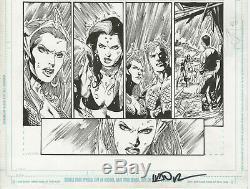 Ivan Reis Aquaman #7, Page 19 Original Art 2011 Stunning