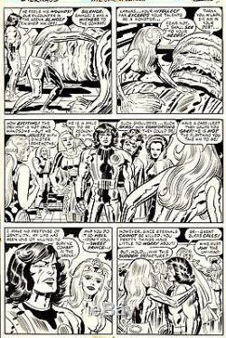 JACK KIRBY & MIKE ROYER Eternals #12 Original Marvel Comic Bronze Age Art 1977