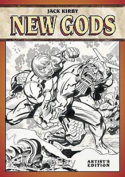JACK KIRBY NEW GODS ARTISTS EDITION HARDCOVER Original Art Book DC Comics HC IDW