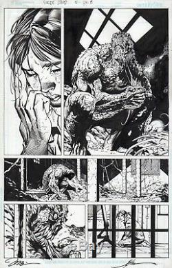 JIM LEE Original Art Page SUICIDE SQUAD