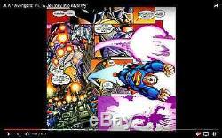 JLA Avengers #1 page 10 George Peréz Original Art