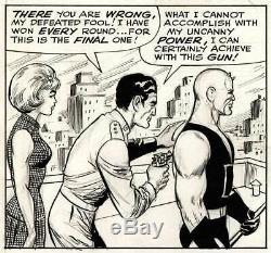 JOE ORLANDO & VINCE COLLETTA DAREDEVIL # 4 Original Page 18 (MARVEL, 1964)