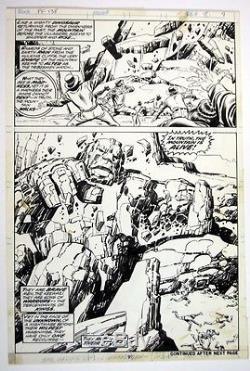 JOHN BUSCEMA & JOE SINNOT FANTASTIC FOUR #138 page 9, Original Comic Art