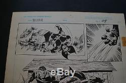 JOHN BUSCEMA Wolverine bloody choices 1993 page 45 FANTASTIC marvel graphic