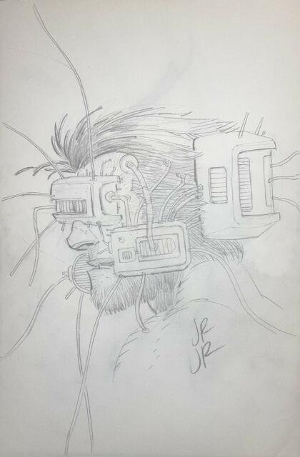 John Romita Jr. Weapon X Original Art Sketch Wolverine