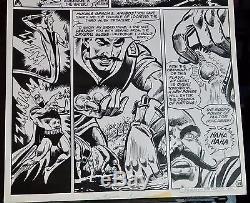 Justice League Of America #152 Page #29-1978 Original Art-dick Dillin-batman-dc