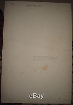 JUSTICE LEAGUE of AMERICA #196 pg 25 Original Art SUPERMAN George PEREZ JLA DC
