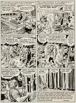 Jack Davis Panic #2 pg #7 (1954, EC) Original Art Mad's sister comic