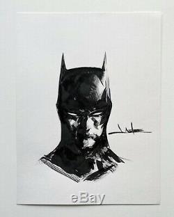 Jae Lee Batman Original Art Sketch Commission 9x12