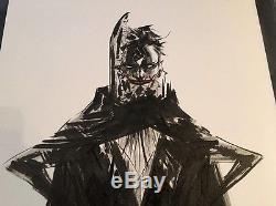 Jae Lee Joker Original Art Ink Sketch Commission 9x12