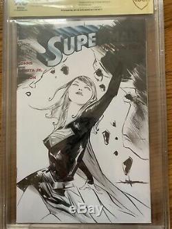 Jae Lee Original Sketch Supergirl CBCS 9.8 Not CGC