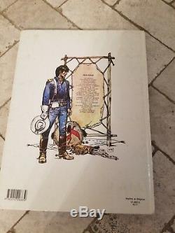 Jean Giraud'Moebius' Signed withSketch La Derniere Carte Jean-Michel Charlier