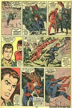 Jeff Aclin Vintage 1978 Spider-man, Daredevil, Black Widow Original Art