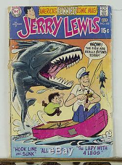 Jerry Lewis DC Comics #120 1970 Original Storyboard Art & Comic Book Very Rare