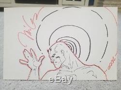 Jim Lee Commission Sketch Original Art Daredevil SDCC 2000