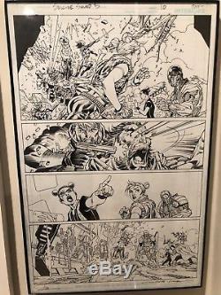 Jim Lee Harley Quinn Suicide Squad 3 Pg 10 Original Artwork Page Art
