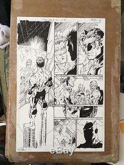 Jim Lee Original Art Justice League Issue 12 Page 23