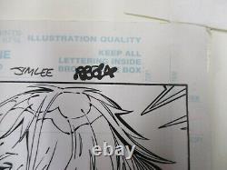 Jim Lee Original Art Witchblade/x-men/silver Age # 1 Page 22