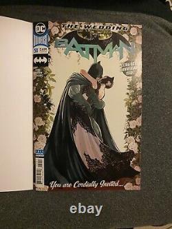 Jim Lee Original Sketch Catwoman (Michelle Pfeiffer) Blank Cover Batman #50