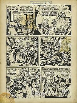 Joe Simon & Jack Kirby (1946) Boy Explorers #2 pg 43 Original art! RARE