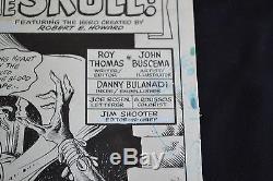 John Buscema King Conan Original Splash page 1980