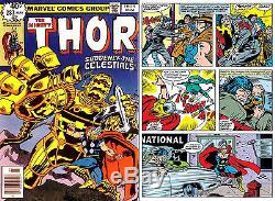 John Buscema Original Artwork from Thor 283