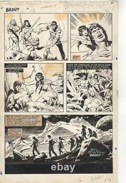 John Buscema original art BRONT