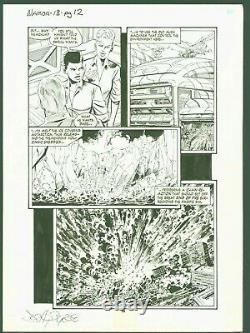 John Byrne Signed Original Art Page Namor Sub-Mariner #18 page 12