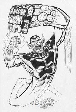 John Byrne Super Skrull Commission 2007 Fantastic Four 2007