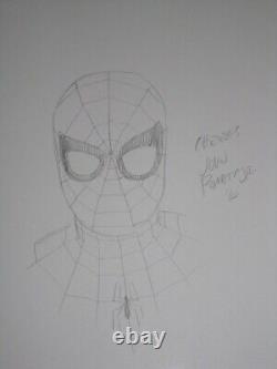 John Romita Jr Original Art Sketch Spiderman