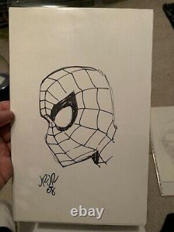 John Romita Jr. Signed 4 Original Marvel Comics Art Spider-Man Hobgoblin Venom