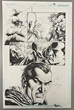 Justice League 11 Shazam Chapter 5 Page3 Original Interior Comic Art Gary Frank